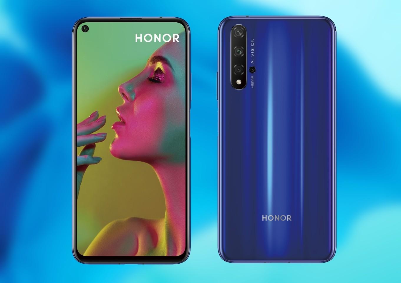 Honor 20 llega a México, estas son sus características y precio