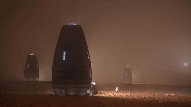 La NASA autoriza casas impresas en 3D para vivir en Marte, así lucen