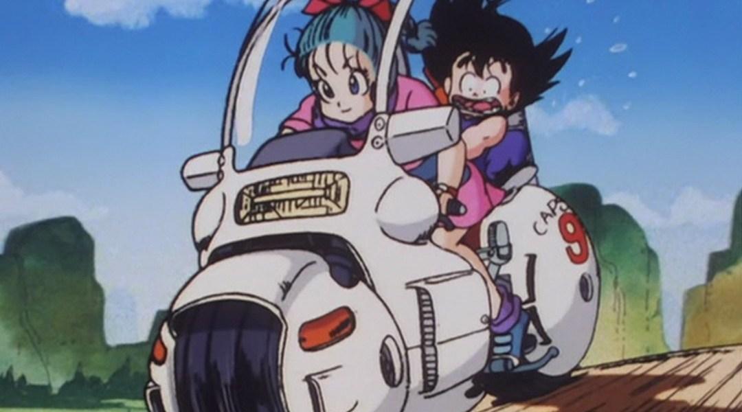 La moto de Bulma en Dragon Ball existe y está increíble