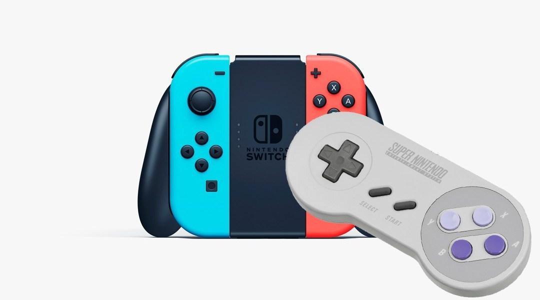 Nintendo patenta un control inalámbrico de Super Nintendo para Nintendo Switch
