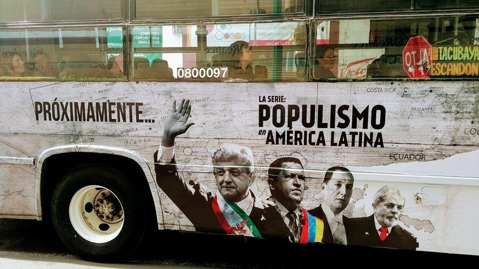 """""""Populismo en América Latina"""", la serie de Amazon multada por """"campaña negra"""" contra AMLO"""
