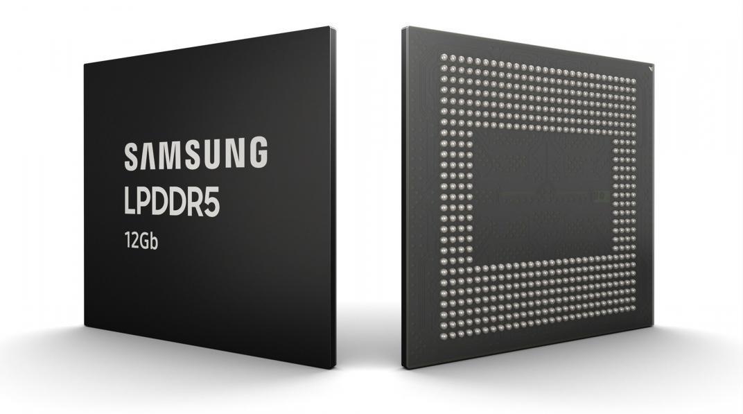 Samsung empieza a producir su chip de memoria RAM LPDDR5 de 12GB