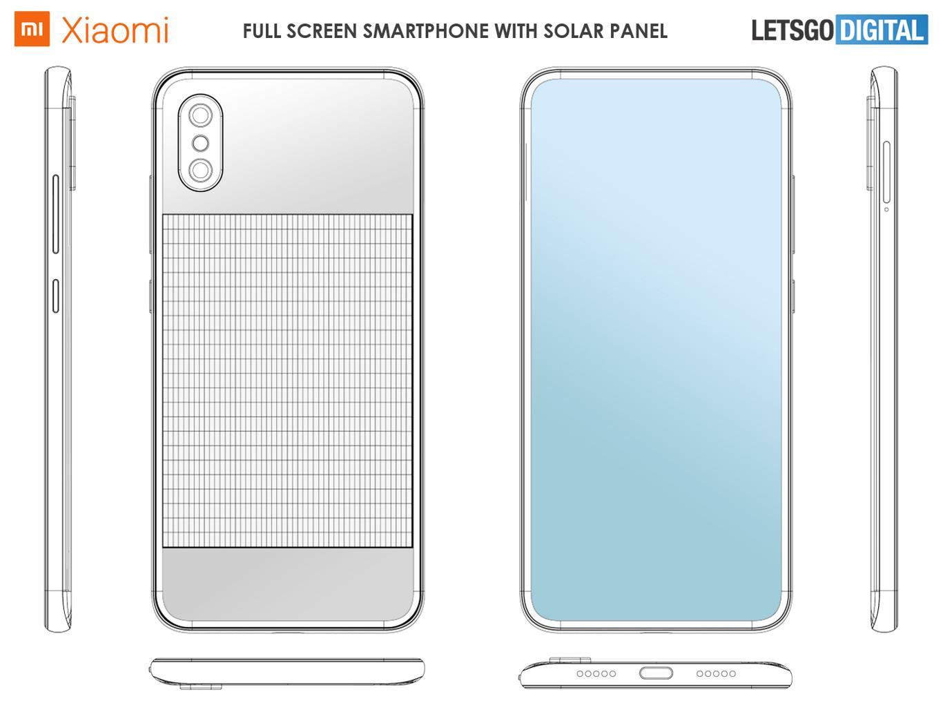 Xiaomi está diseñando teléfonos que se recargan con energía solar