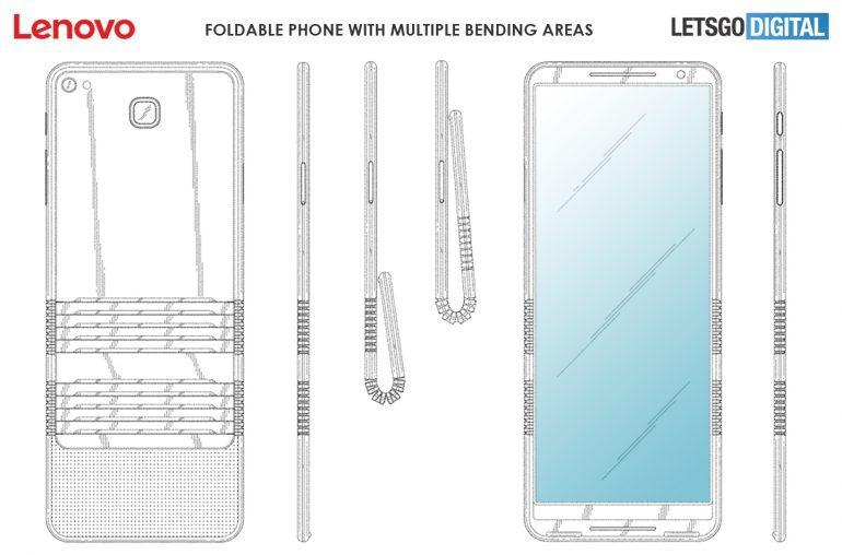 Así sería el Motorola RAZR 2020 con pantalla plegable 2