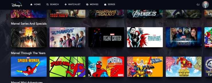 Disney+ ofrecerá los clásicos de Marvel de nuestra infancia 2
