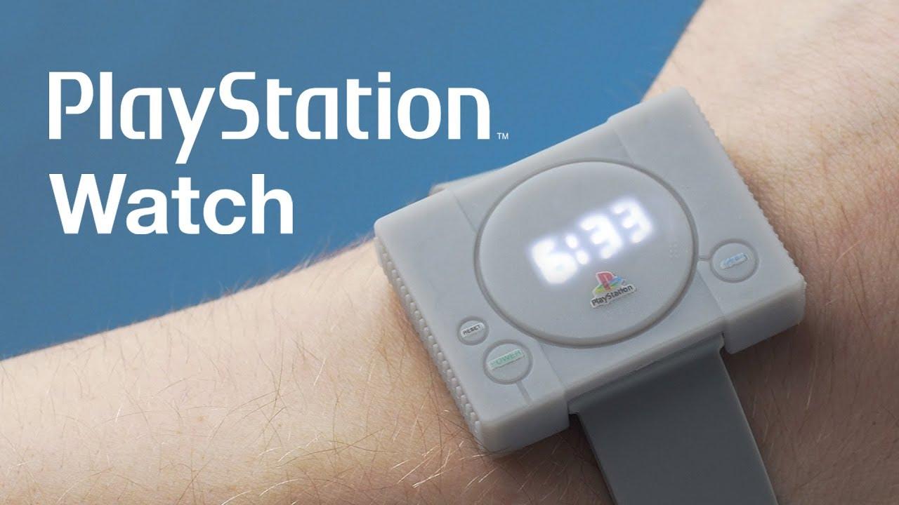 El reloj de PlayStation que no puede faltar en tu colección
