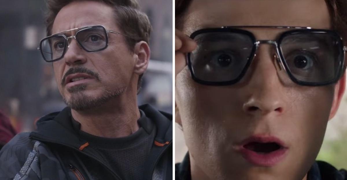 Fan de Avengers recrea las gafas que Tony Stark le hereda a Spider-Man