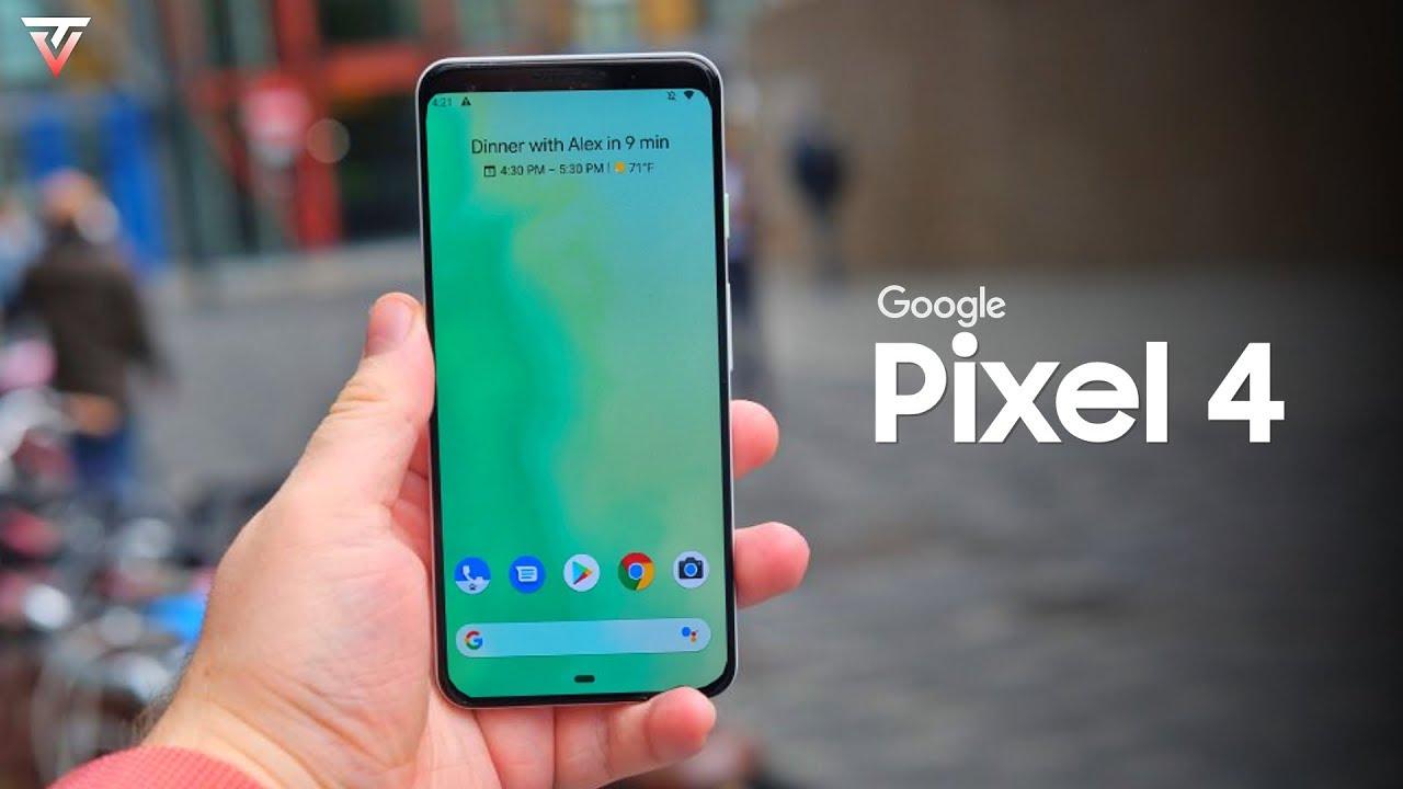 Filtran el Google Pixel 4 XL por completo en dos videos