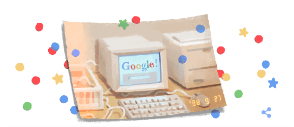 Google cumple 21 años y lo celebra con un doodle especial