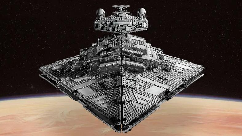 Lego lanzará nave de Star Wars con 4,700 piezas