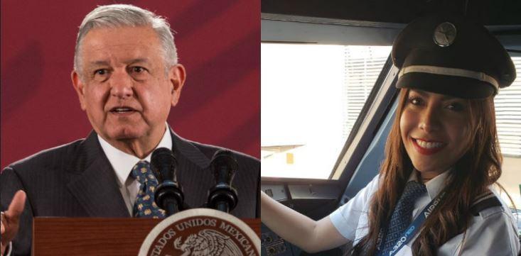 """López Obrador considera """"irracional"""" el comentario de la piloto de Interjet"""