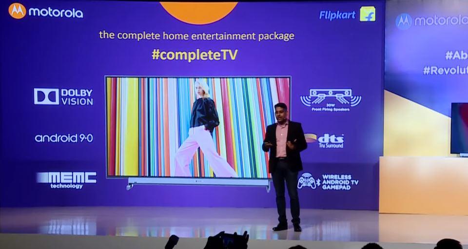 Motorola anuncia sus primeras Smart TV