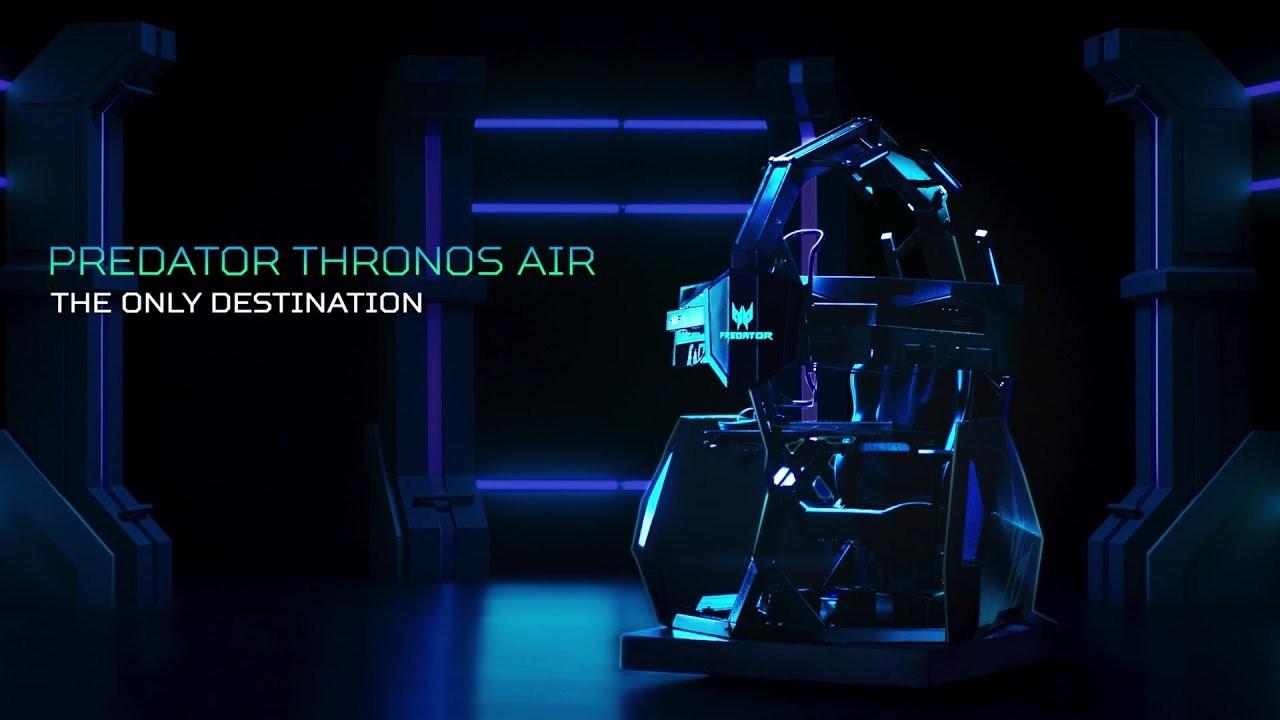 Predator Thronos Air, la cabina gamer que te masajea mientras juegas