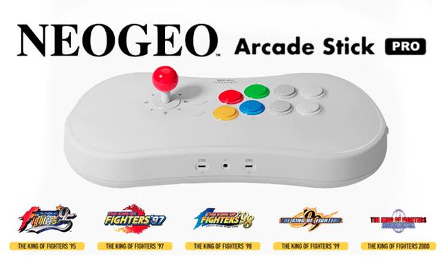 SNK revela los 20 títulos que incluirá el nuevo Neo Geo Arcade Stick Pro