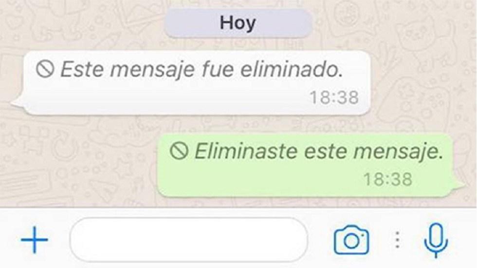 Te enseñamos a ver los mensajes borrados de WhatsApp