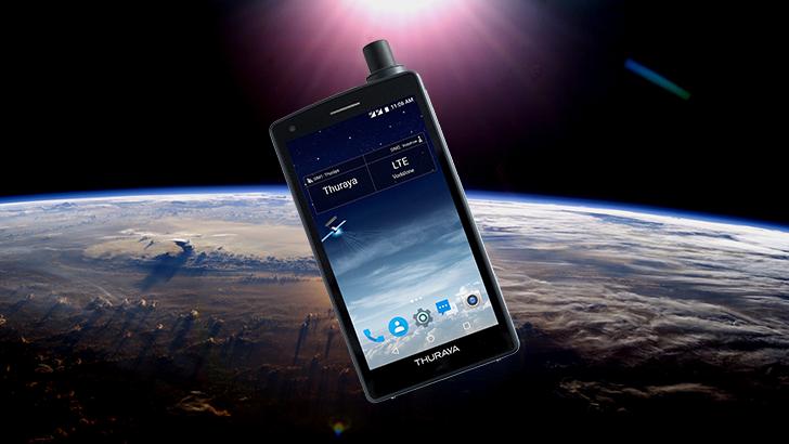 Thuraya X5-Touch, el smartphone con cobertura en todo el planeta