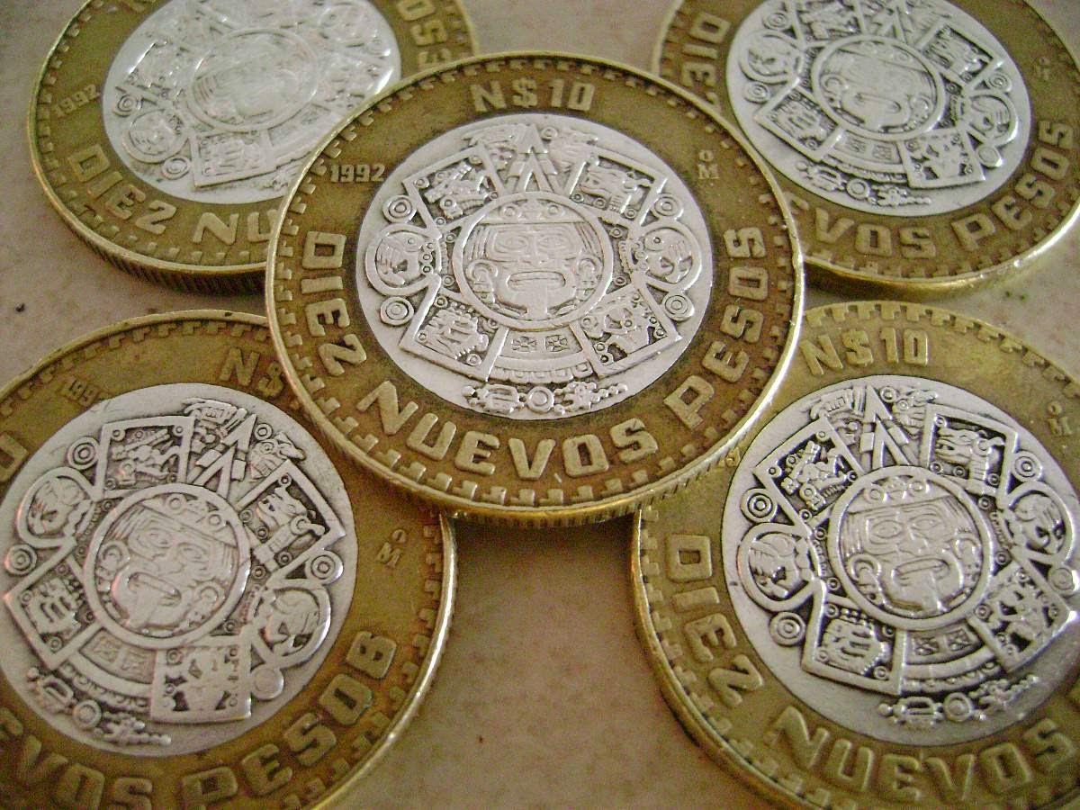 Tus monedas de 10 pesos pueden valer más de mil 500 en Internet