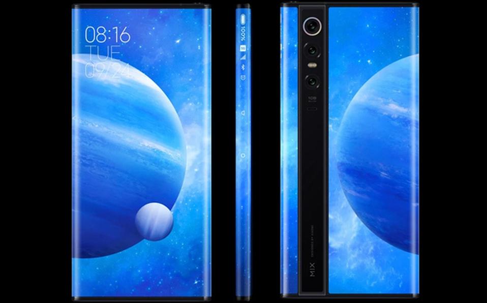 Xiaomi sorprende con el Mi Mix Alpha y su pantalla curva envolvente