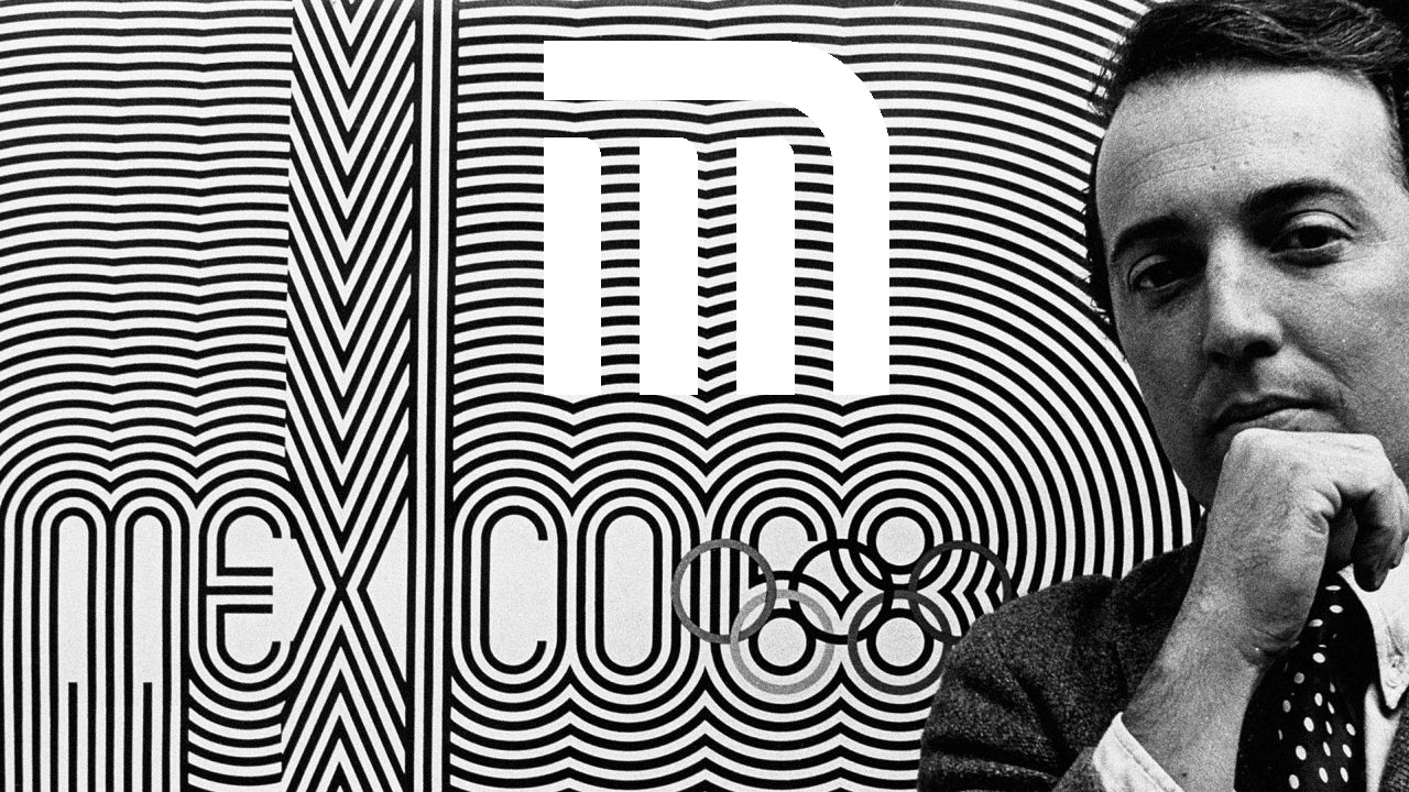 El hombre que diseñó los logos del Metro y de las Olimpiadas del 68