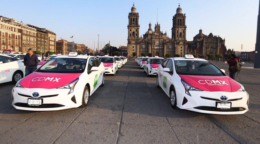 En noviembre habrá aplicación y opciones de tarifa para taxis: Sheinbaum