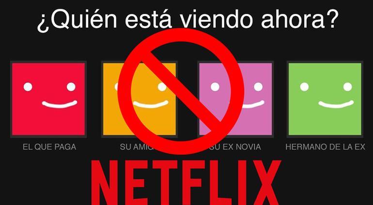 Es posible que ya no puedas compartir tu cuenta de Netflix