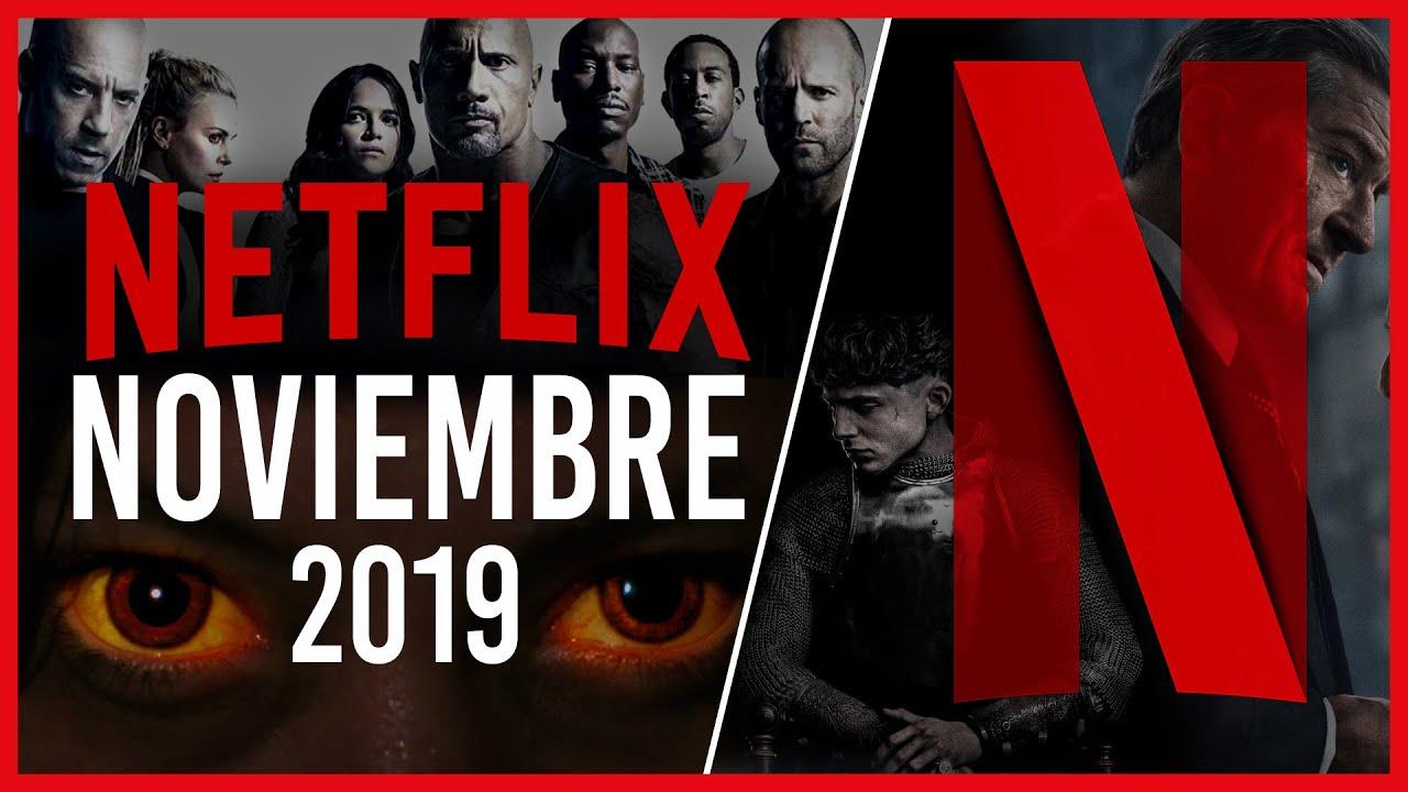 Lista de estrenos y novedades de Netflix para noviembre