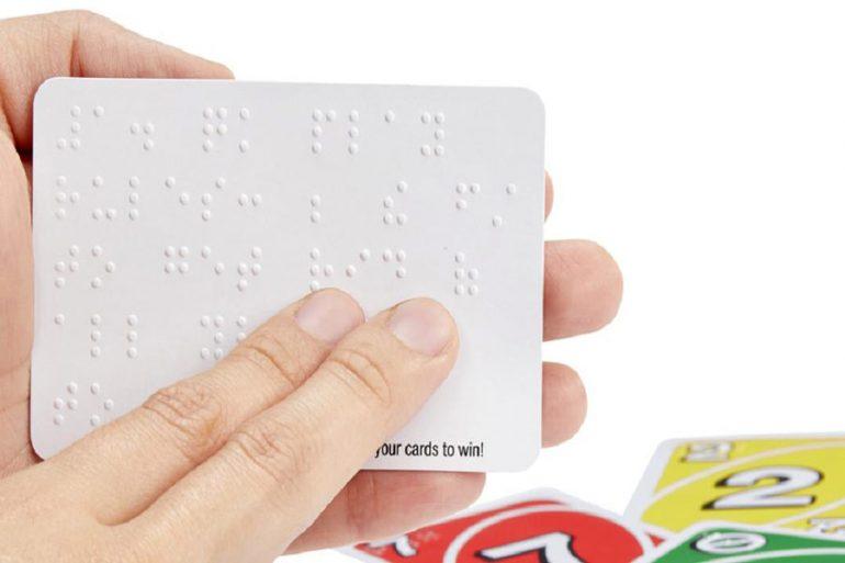 Mattel lanza versión del juego de UNO en braille