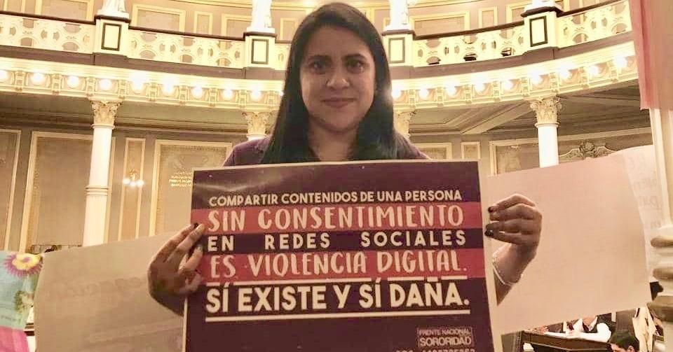 """Olimpia, la mujer que inspiró la ley que penalizará la distribución de """"packs"""""""