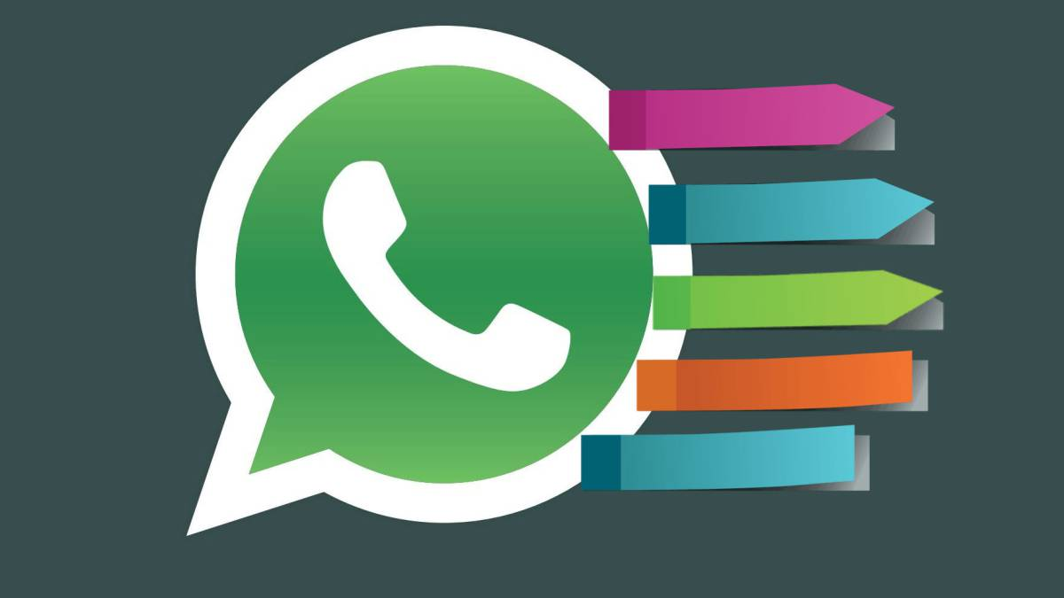 Organiza tus mensajes de WhatsApp utilizando etiquetas