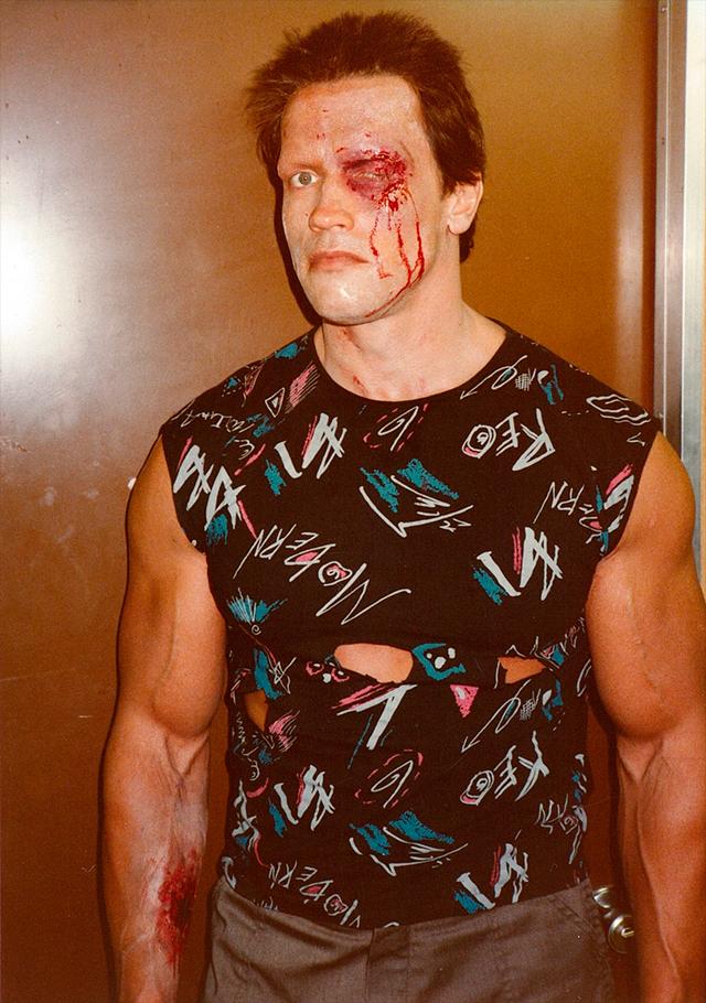 Schwarzenegger celebra los 35 años de Terminator con fotos inéditas