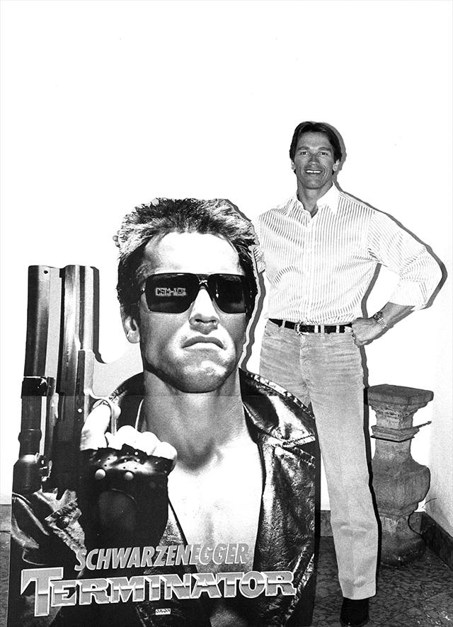 Schwarzenegger celebra los 35 años de Terminator con fotos inéditas 2