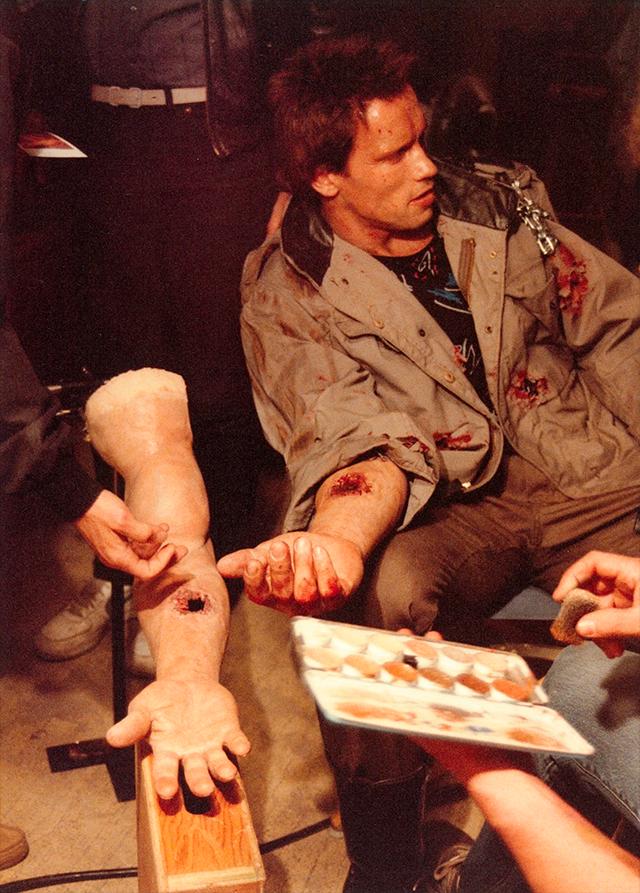 Schwarzenegger celebra los 35 años de Terminator con fotos inéditas 3