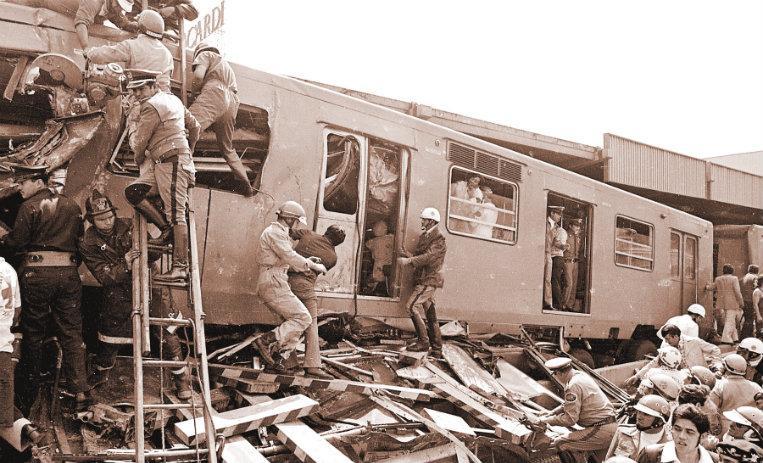 Se cumplen 44 años del peor accidente en la historia del metro de la CdMx