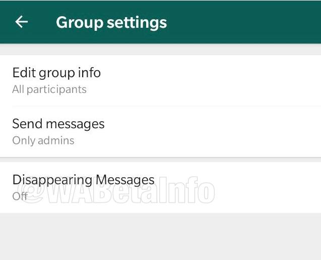 WhatsApp prueba función para borrar mensajes automáticamente