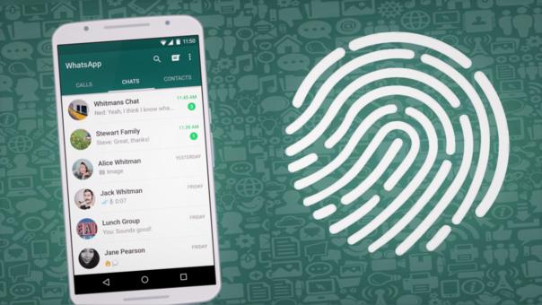Ya puedes bloquear WhatsApp con tu huella dactilar en Android