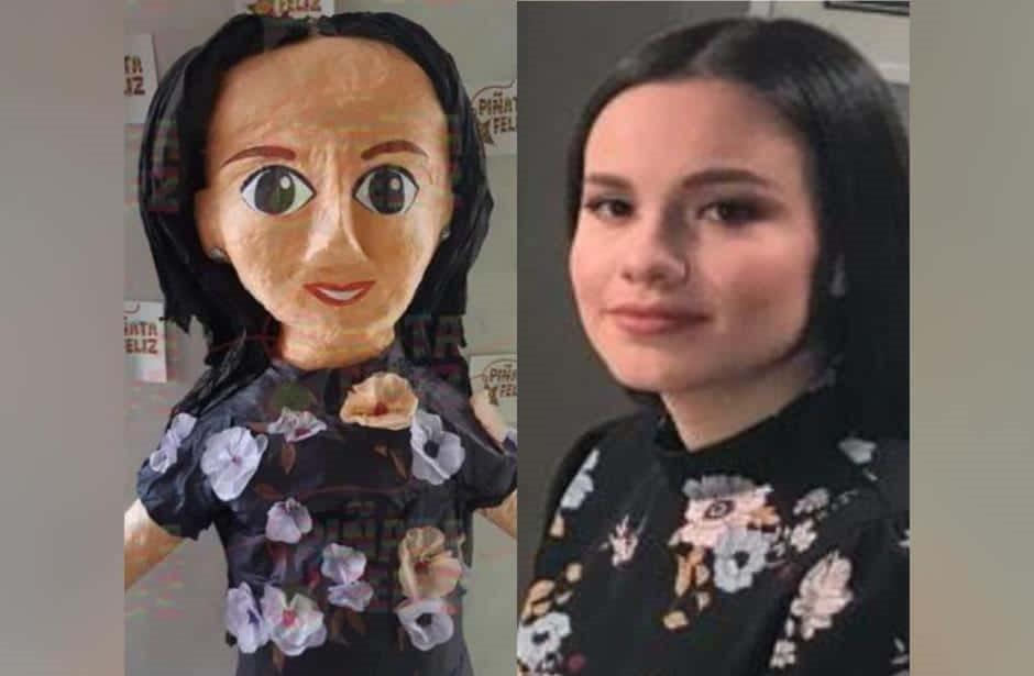 Ya puedes comprar la piñata de Sarita Sosa en Ciudad Juárez