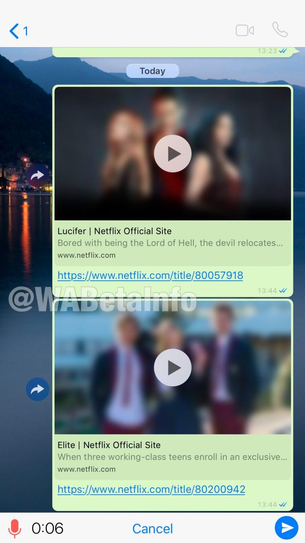 Ahora podrás ver Netflix desde WhatsApp 2