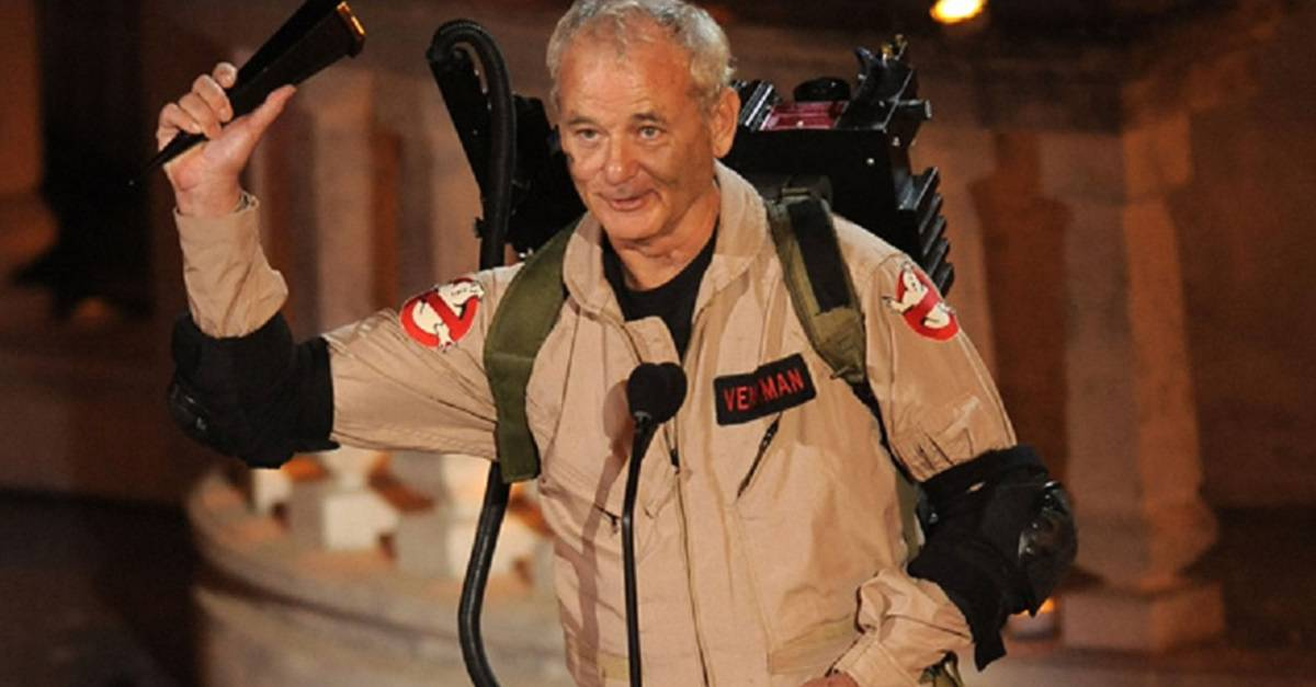Bill Murray será Peter Venkman en Ghostbusters 2020