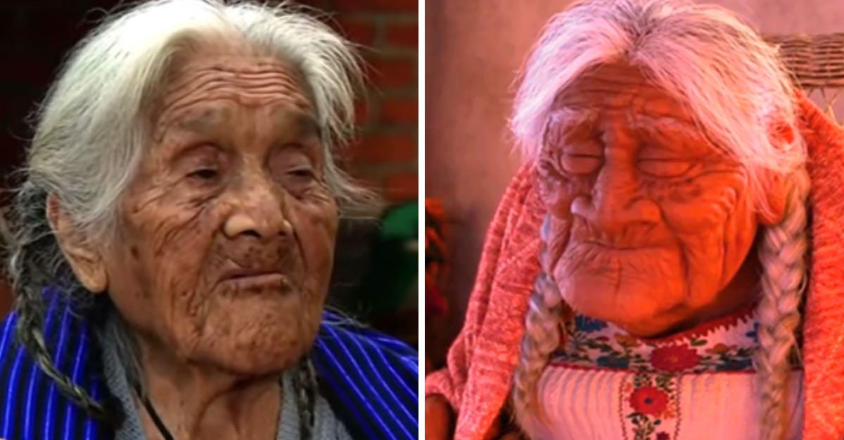 """Conoce a la abuelita que inspiró el personaje de """"Mamá Coco"""""""
