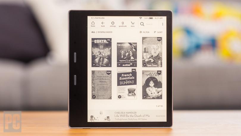 Conoce el nuevo Kindle Oasis 2019 con luz cálida ajustable