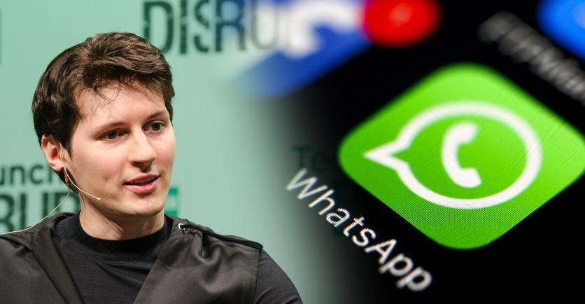 El fundador de Telegram recomienda no usar más WhatsApp