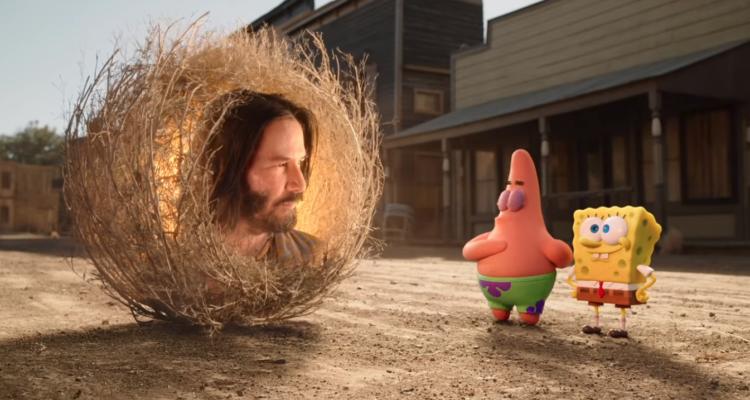 Keanu Reeves aparecerá en la nueva película de Bob Esponja