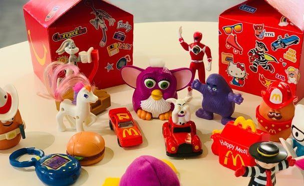 La Cajita Feliz de McDonald's incluirá juguetes retro por sus 40 años