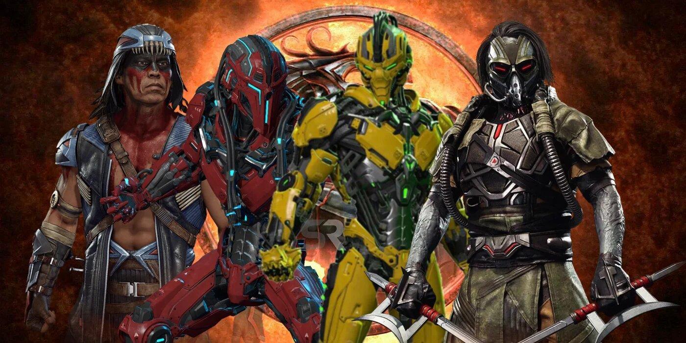 Personajes de Mortal Kombat 3 aparecerán en la nueva película