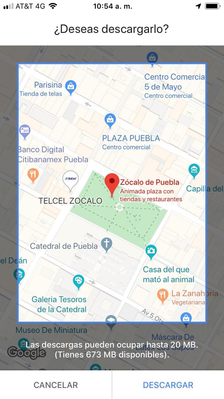 Te decimos cómo usar Google Maps sin tener conexión a Internet