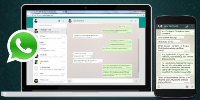 Cómo ocultar tus conversaciones en WhatsApp web