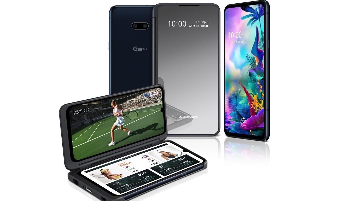 El LG G8X ThinQ con doble pantalla llega a México 2