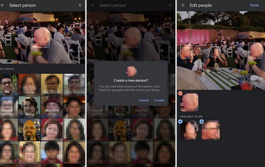 Google Fotos ahora permite etiquetar caras de forma manual 2