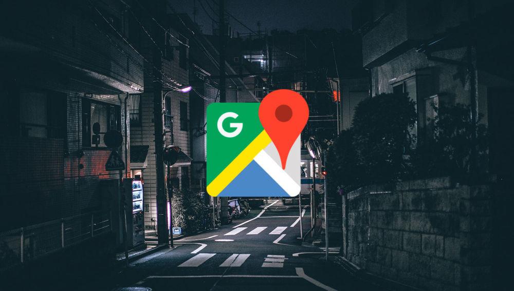 Google Maps mostrará a los peatones las rutas más iluminadas