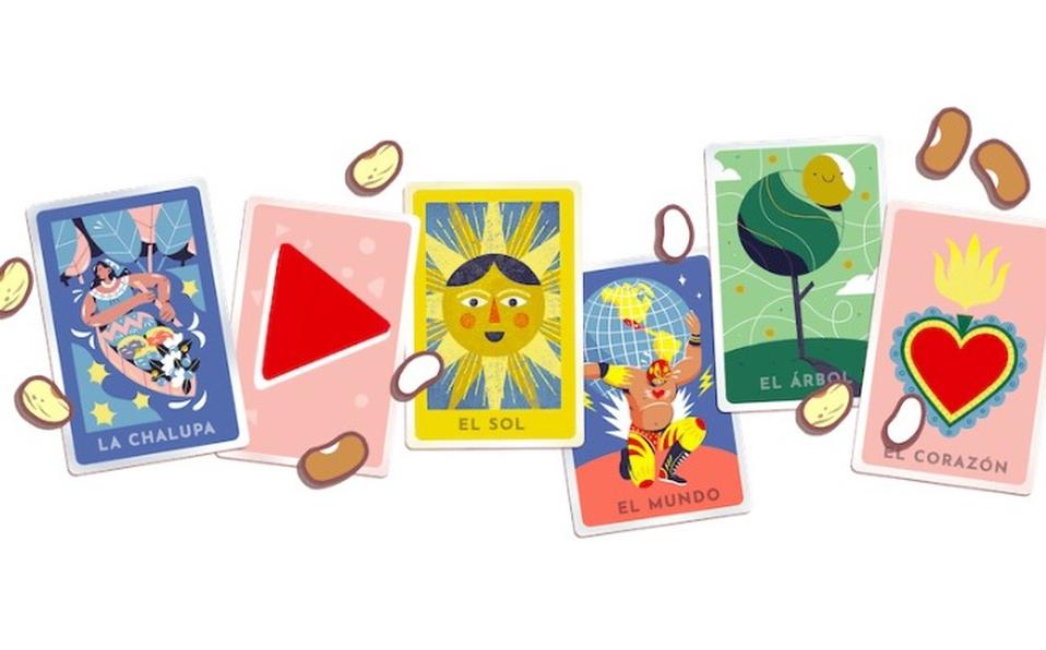 Google te invita a jugar lotería mexicana con su Doodle interactivo